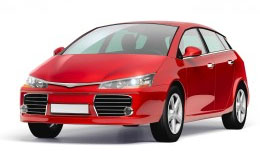 Red Car, Car Insurance Image, Campion Insurance Ireland